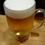 居酒場 cozaru - 生ビール