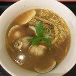 市川商店 - 料理写真:はまぐりの柚子 醤油らぁ麺