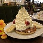 Pamplemousse - いちご&バナナ&マウンテンクリーム1,000円(税別)