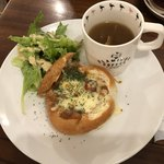 Pamplemousse - パンシチュー(サラダ・スープ付き)800円(税別)