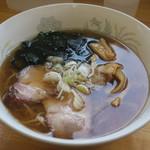 水の郷らーめん ミール - 料理写真:醤油ラーメン650円