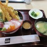 稚加榮 - 【海鮮天丼 970円(数量限定)】