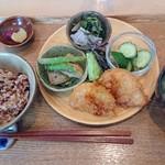 fika - 酵素玄米菜食ランチ1100円込