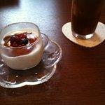 ひだまりカフェ - セットのデザートと、飲み物☆(第一回投稿分③)