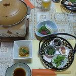 みさき公園 南海荘 - 料理写真:まずはこんな感じで~