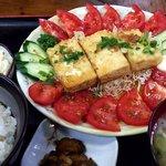 86650391 - おかめ豆腐定食