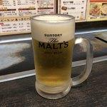 福えびす - 生ビール中♪