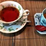 86655627 - 豆乳プリン&紅茶