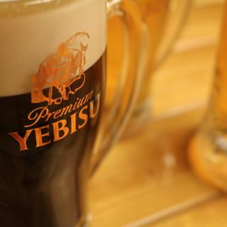 『エビスビールや地酒、焼酎も♪』お得な飲み放題が多数!