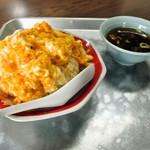 中華大陸 - 料理写真:玉子チャーハン スープ
