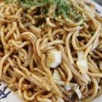 86656582 - 麺は自社製麺の緩くウェーブかかった中太麺