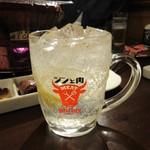 八輪 - ジントニ 580円(税別)