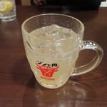 八輪 - ほろにがいジントニ 600円(税込)