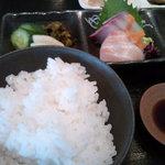 イッスイカシワ - お米が美味しかったデス♪