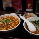 香香飯店 - 香香飯店 麻婆丼とミニラーメン