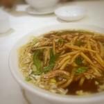 京華飯店 - 料理写真:ピーマンと豚肉の細切りそば