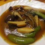 鎌倉山下飯店 - アワビの醤油煮