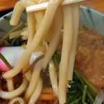 そば処 長岡屋 - ゴン太麺、最高!