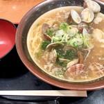 宝醤軒 - 料理写真:あさり潮浜らーめん820円