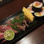 個室肉バル さいたま肉の会プレミアム - 肉寿司