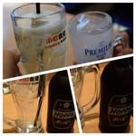 西新宿 小町食堂 - ホッピー白とレモンサワーで乾杯♪