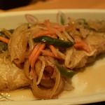 西新宿 小町食堂 - 鯖の南蛮漬け