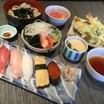 寿司割烹 八風 - レディースランチ1100円土日もOK!