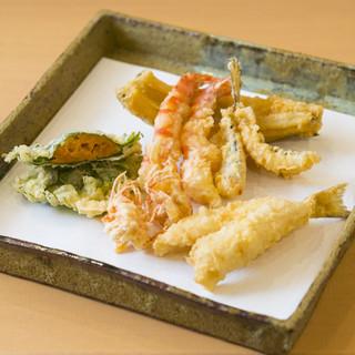 秋田 てんぷら みかわ - 料理写真: