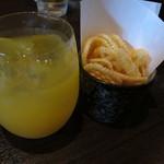 やきとり家すみれ - お子様オレンジジュース ¥0-