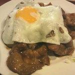 ヤンバル食堂 - 豚の生姜焼き アップ