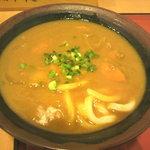 ヤンバル食堂 - カレーうどん (450円)