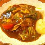 カレーアンドコーヒー・タイム - 野菜カレー 750円