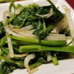 Hu-Long - ③空心菜炒め             シャキシャキ感が良い。