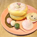 3 STARS PANCAKE - 桜薫る春の和パンケーキ2018