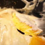 3 STARS PANCAKE - 洋梨と柿のチーズグラタンパンケーキ