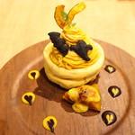 3 STARS PANCAKE - 恋するマロンのかぼちゃモンブラン