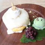 3 STARS PANCAKE - みそ餡クリームのお餅パンケーキ