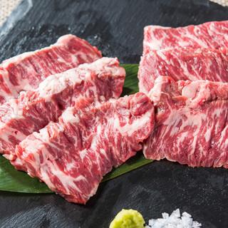 【焼肉】和牛赤身肉×塩ホルモン
