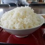 ひもの食堂 - ご飯大盛りはプラス50円
