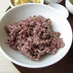chano-ma - 黒豆入り玄米