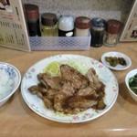とんとん亭 - 料理写真:ロース焼肉定食