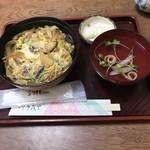 川京 - 料理写真:鰻玉重。 税込900円。 美味し。