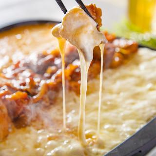 チーズタッカルビ5種食べ放題15品&3時間飲み放題4480円
