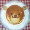 Shirokafe - 料理写真:くまさんパンケーキです。その日によって多少出来上がりが違います!!