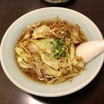 うた乃 - 和風ちゃんぽん 「スープ焼きそばとでもいうべき初体験の味」