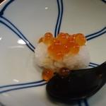 鮨處つの田 - いくら(18-06)