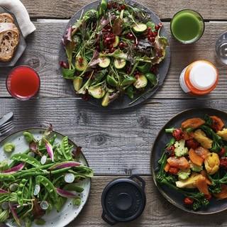 栄養豊富で新鮮なお野菜の数々をお楽しみいただけます♪