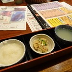 酉や 喜兵衛 - お通し390円(外税)