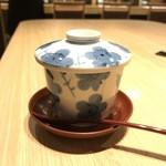 双葉寿司 - 茶碗蒸し 600yen