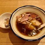 香伏 - 中華そばハーフ サンマ水煮トッピング